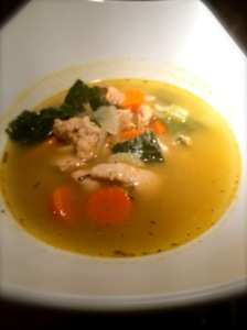 Home-style Chicken Soup.
