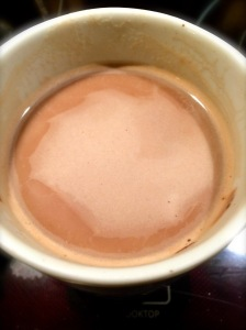 Rich and sweet Paleo hot chocolate