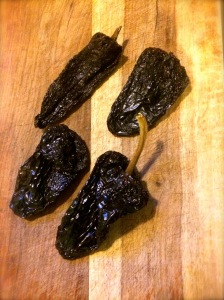 Ancho chilies are the key ingredients to this recipe.